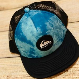 NEW Quicksilver trucker SnapBack surf hat ball cap